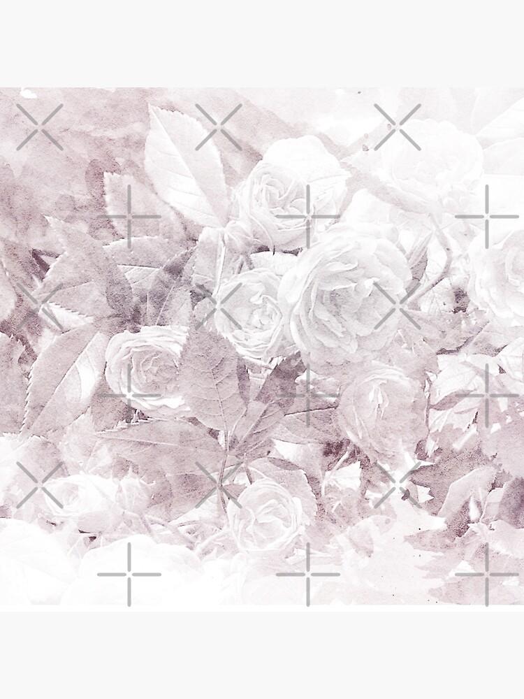 Watercolor Roses Print by grandreverie