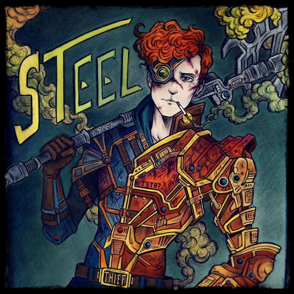 STEEL by deadradiocat