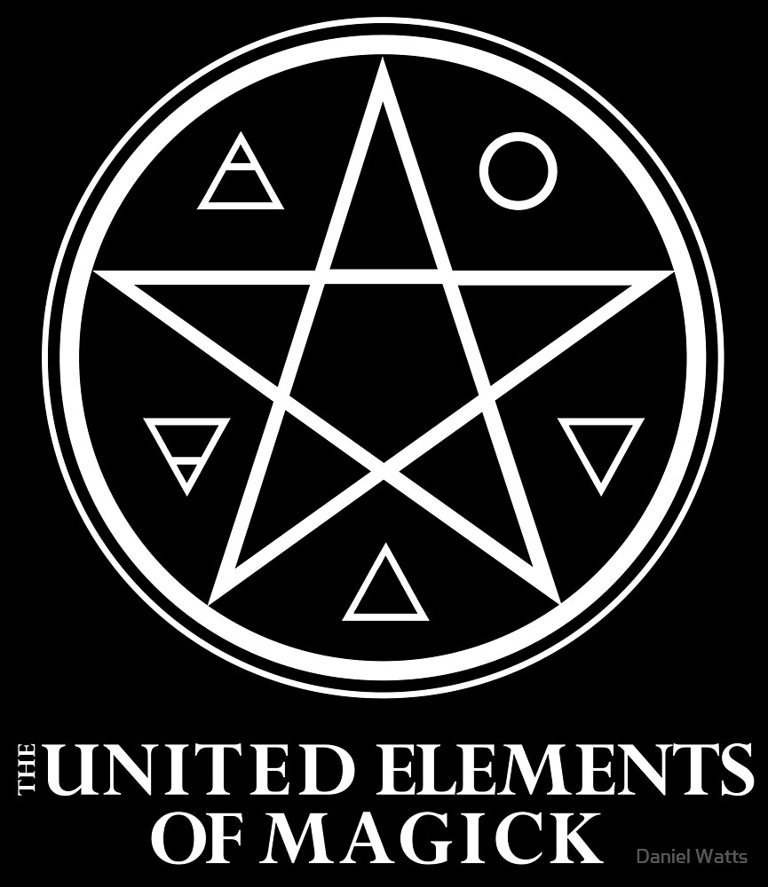 The United Elements of Magick  by Daniel Watts