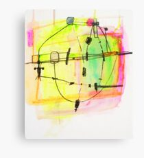 Sub Time Machine  Canvas Print