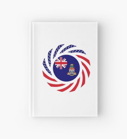 Caymanian American Multinational Patriot Flag Series Hardcover Journal