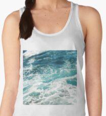 Blue Ocean Waves  Women's Tank Top