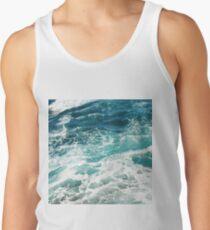 Camiseta de tirantes Blue Ocean Waves
