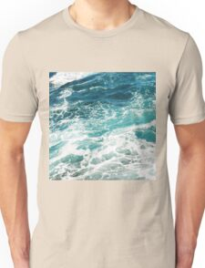 Blue Ocean Waves  Unisex T-Shirt