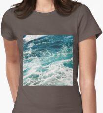 Blue Ocean Waves  T-Shirt