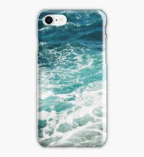 Blue Ocean Waves  iPhone Case/Skin