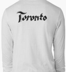"City Text ""Toronto"" Long Sleeve T-Shirt"