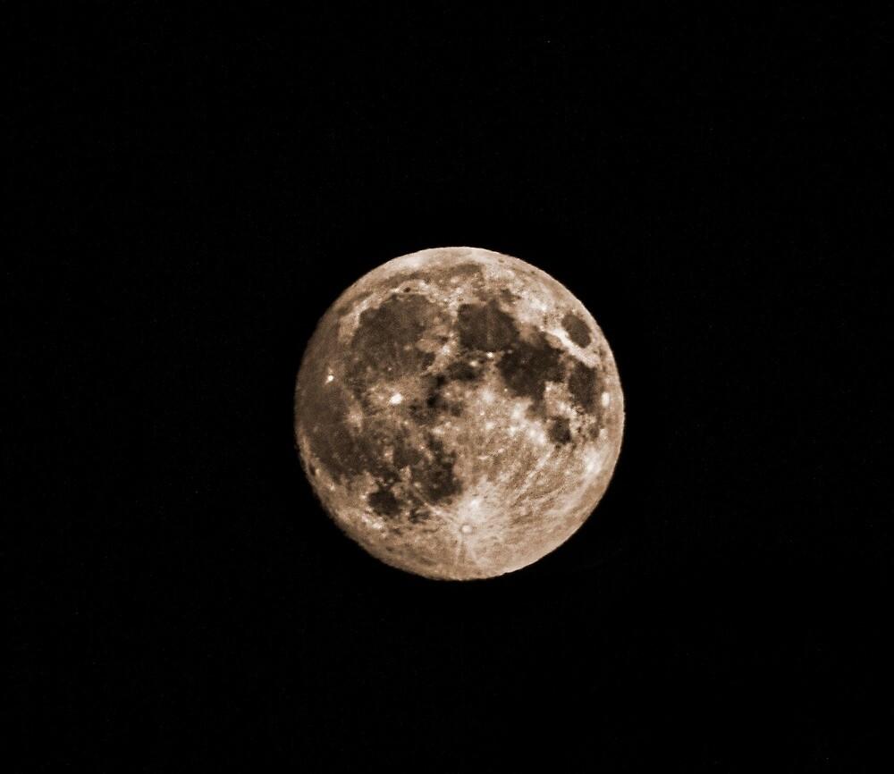 Super Moon 2014 by beckam81