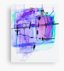 Sub Time Machine 1 Canvas Print