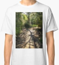 The Journey Along the Path Comes with Light & Shadows Classic T-Shirt
