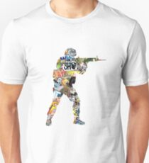 Sticker CSGO Unisex T-Shirt