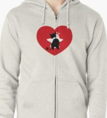 Guess  the evil one Zipped Hoodie