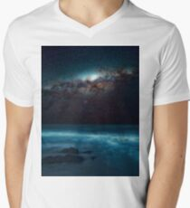 Ocean glow Men's V-Neck T-Shirt