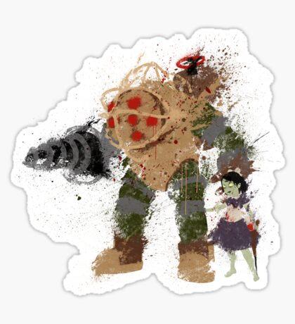 Mr.Bubbles Sticker