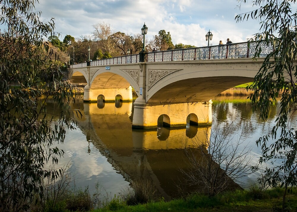 Morell Bridge, Yarra River, Melbourne by Neil O'Connor