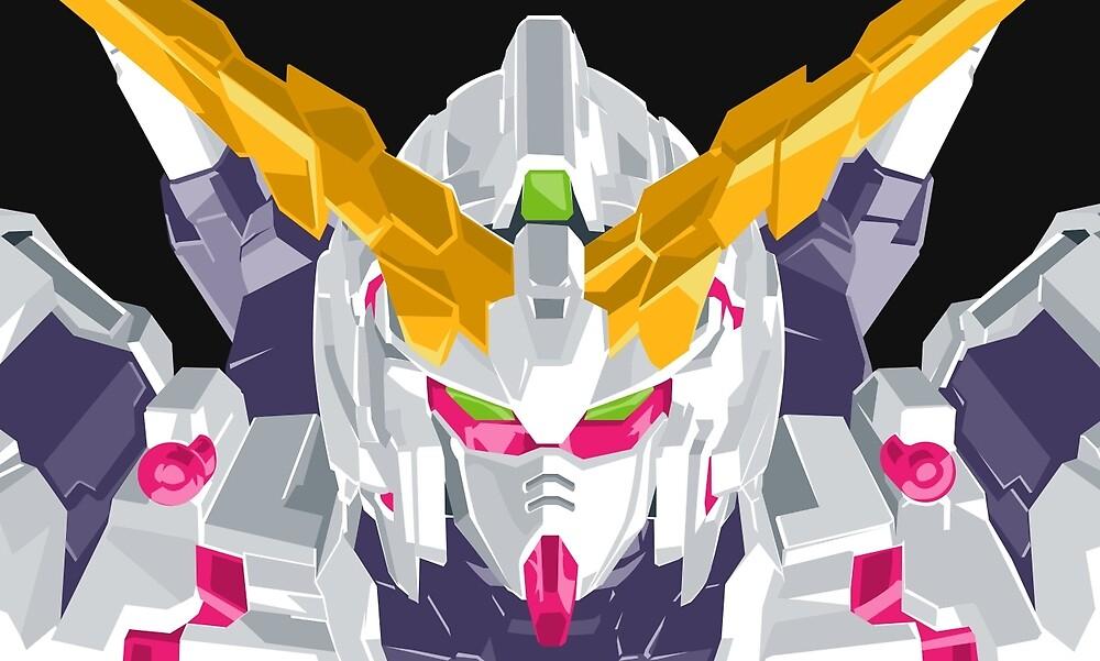 Gundam Unicorn PsychoFrame (Red) by samblak