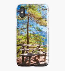 Samariá Gorge, island of Crete, Greece iPhone Case/Skin