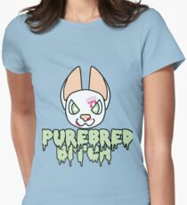 Purebred Bitch Women's Fitted T-Shirt