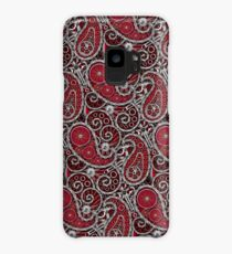 Pushie Paisley Pattern Chrome Case/Skin for Samsung Galaxy