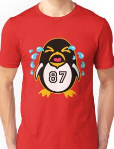 "Crosby Penguin  ""war""Cry Unisex T-Shirt"