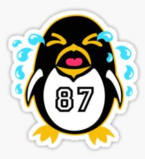 "Crosby Penguin  ""war""Cry Sticker"