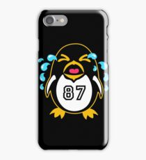 """Crosby Penguin  """"war""""Cry iPhone Case/Skin"""