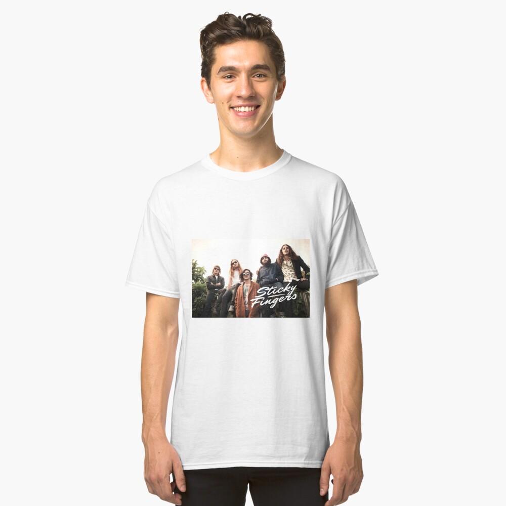 Dedos pegajosos Camiseta clásica