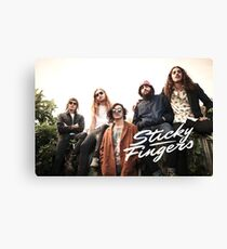 Sticky Fingers Canvas Print