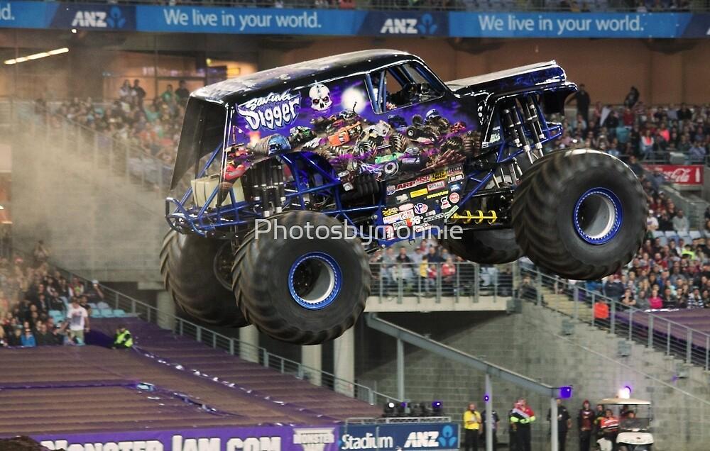 Son Uva Digger Monster Truck  by Photosbymonnie