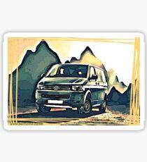 T4 Mountain Transporter Sticker