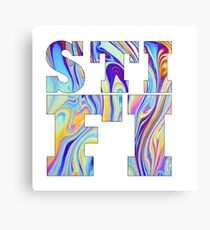 Sticky Fingers waves Canvas Print