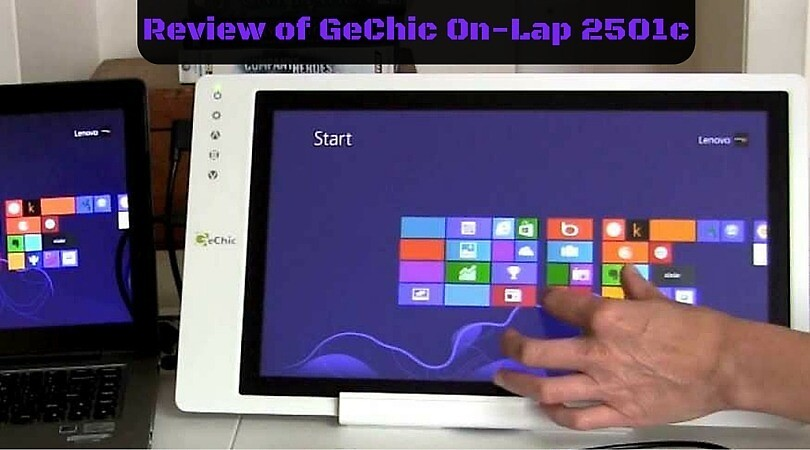 GeChic On-Lap 2501c Portable LCD Monitor Review by joselee07
