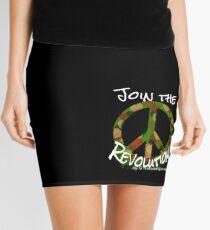 Camo Peace Mini Skirt