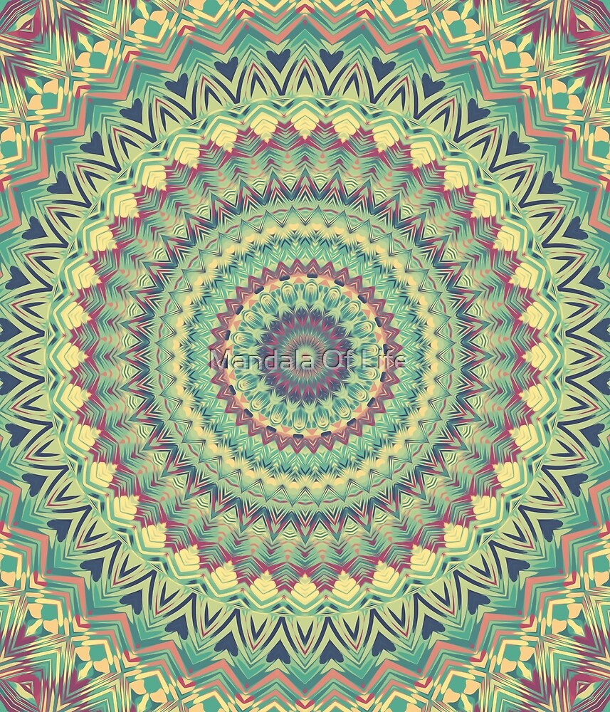 Mandala 104 by PatternsofLife