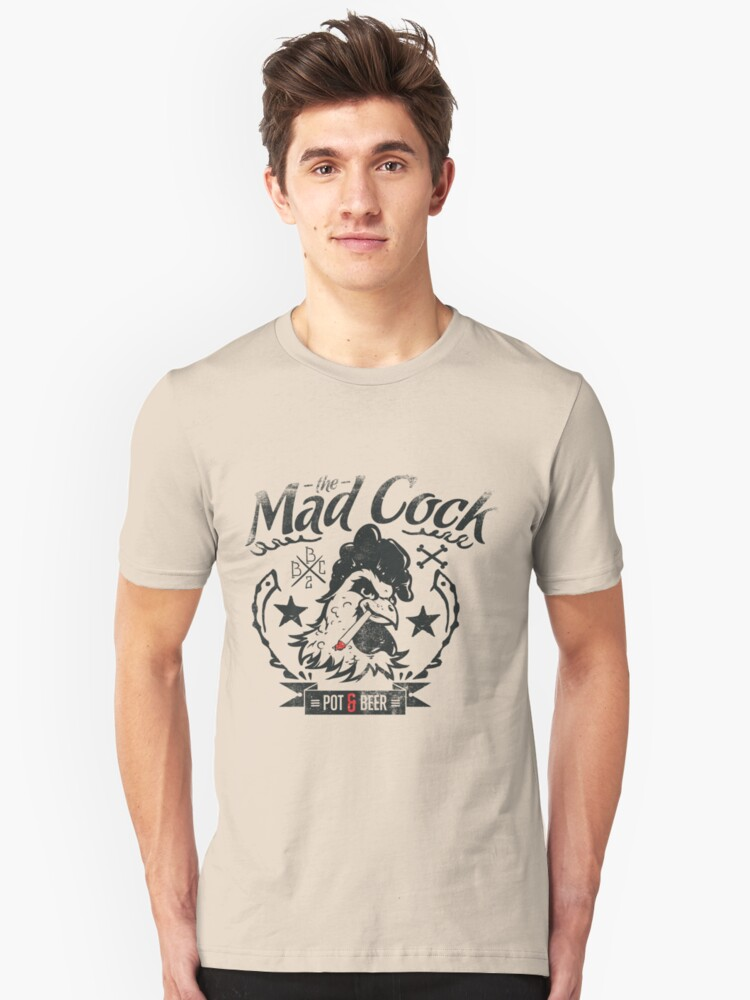 The Mad Cook Unisex T-Shirt Front
