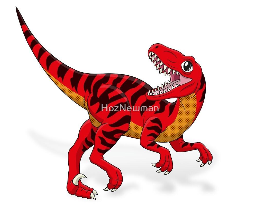 Baby Raptor by HozNewman