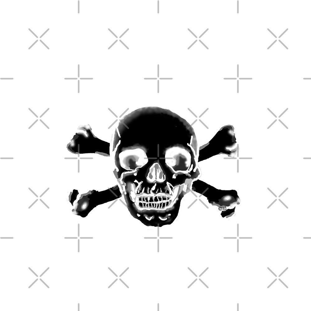 Piratenschädel dark by freaks13