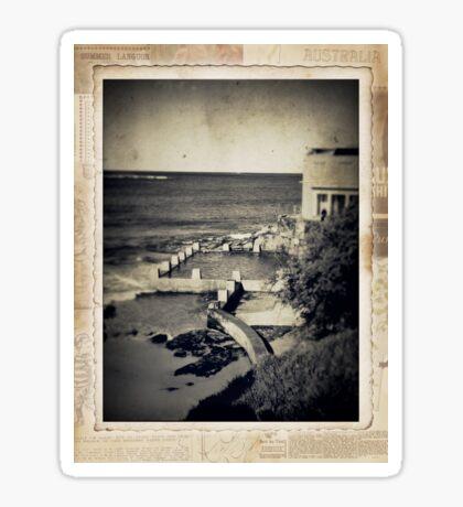 the seaside ~ a nostalgic study III Sticker