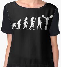 Cheerleading Funny T Shirt Chiffon Top
