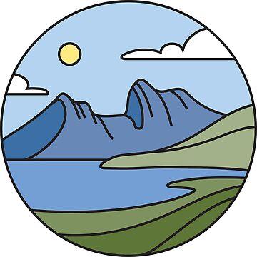 Round Tasmania: Mountain by taniawalker
