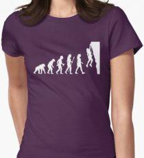 Cool Women's Rock Climbing  Women's Fitted T-Shirt