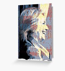 MADAME PRESIDENT by ROOTCAT Greeting Card
