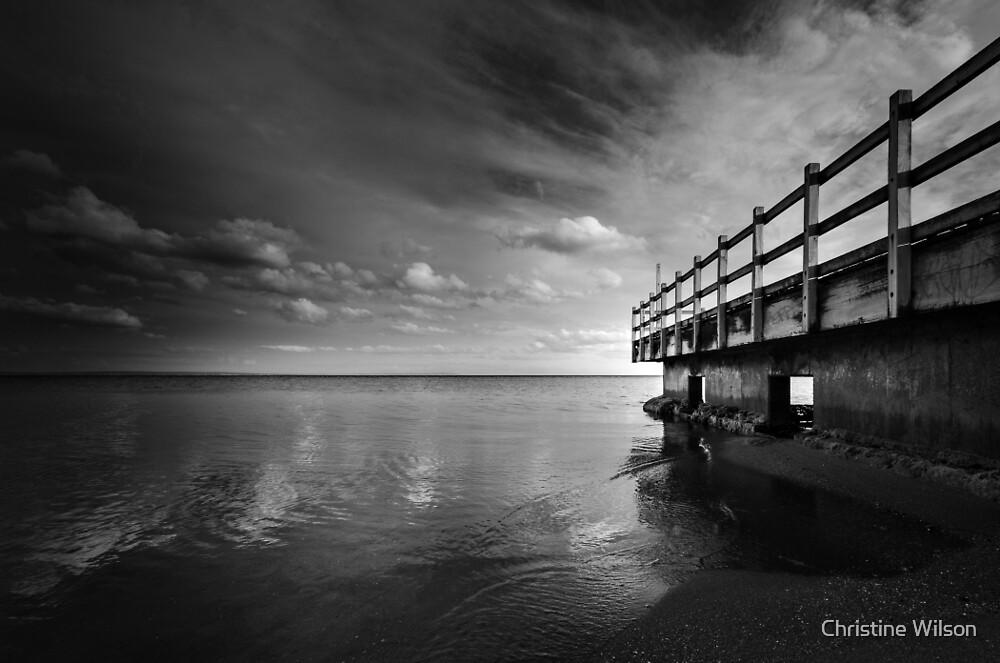Mentone Beach  by Christine Wilson