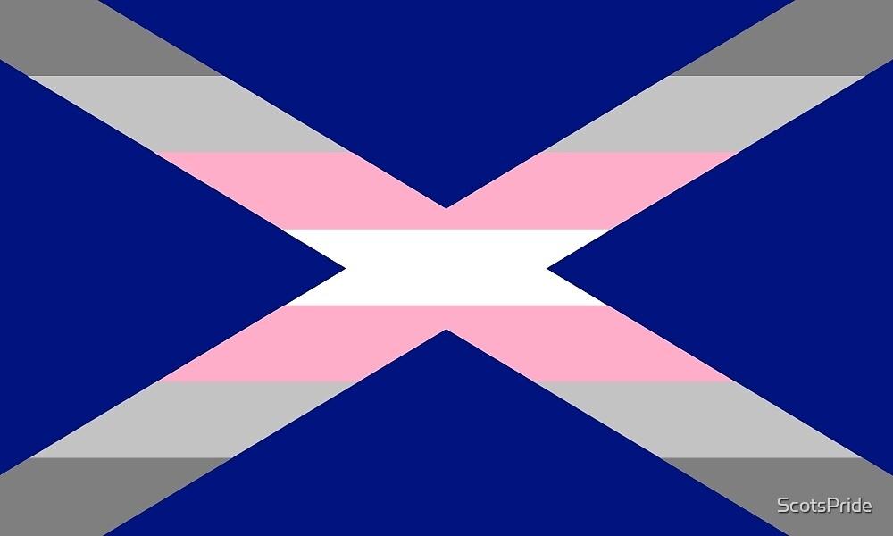 Scottish Demigirl Pride Saltire by ScotsPride