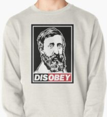 """Henry David Thoreau """"Disobey""""  Pullover"""