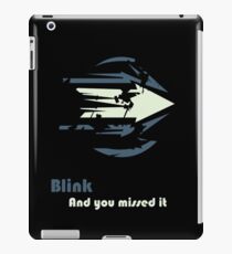 Blink iPad Case/Skin
