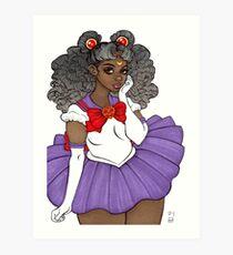 Sailor Scout Art Print