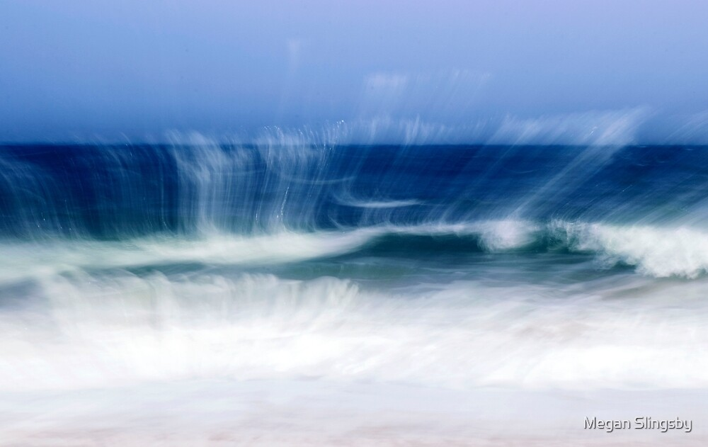 Artisitc Waves, St Ives, Cornwall  by Megan Slingsby