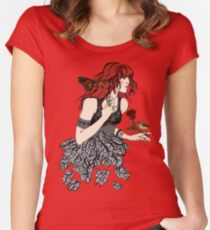 Once Upon a Time There was Florence Women's Fitted Scoop T-Shirt