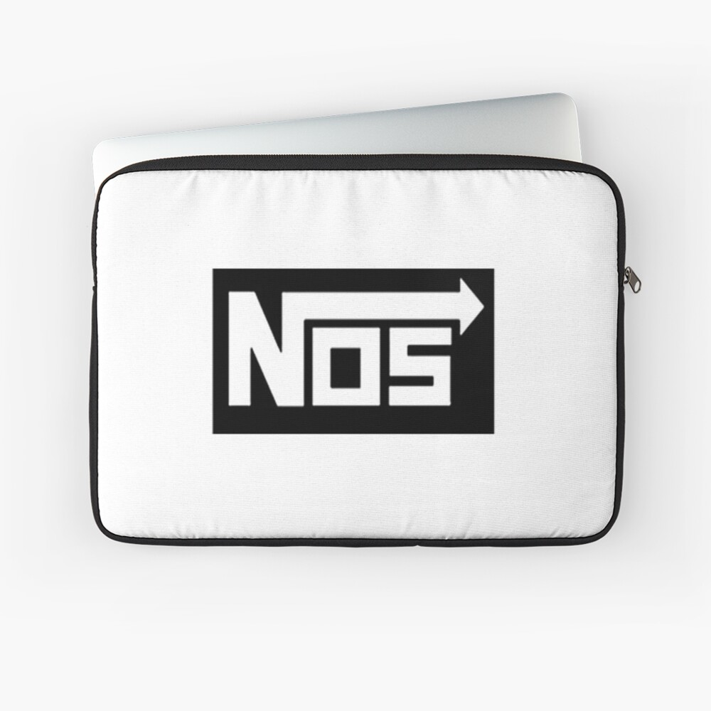 Nos Logo (Lachgas-Systeme) Laptoptasche